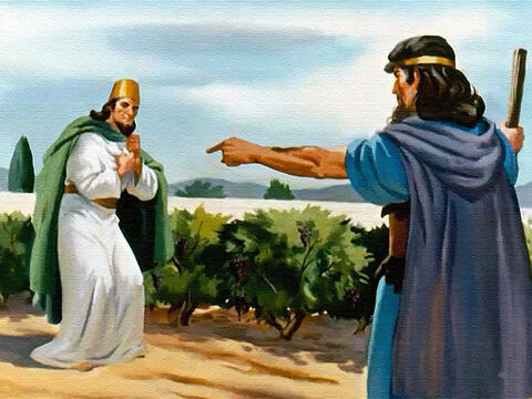 And Ahab heard from the lips of Elijah the terrible price he would pay for his sin. – Slide 33