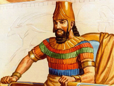 Darius, king of this vast domain, had chosen over a hundred princes to help him govern the people. King Darius had a high regard for the intelligence of other men. – Slide 2