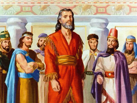 Because of Daniel's position with the kingdom, the other princes resented him. Jealously made them bitter and they plotted to get rid of Daniel. – Slide 4
