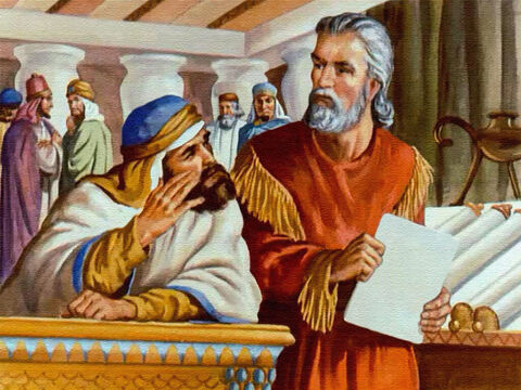 When Daniel heard about the law, he knew in his heart that this was a trap that had been set for him. – Slide 17