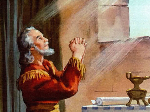 So Daniel continued to pray before his open window just as he had done before. – Slide 20