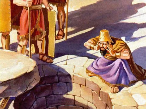 The stone was removed and the king cried out, 'Daniel, servant of the living God, is your God able to deliver you from the lions?' – Slide 36