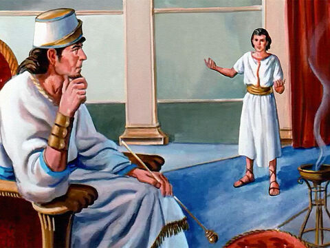 He was allowed to see the king as soon as he arrived, because the king knew Elisha was a true prophet of God. And when the servant told him about the Syrian plot, the king sent orders to the captains of his army. – Slide 11