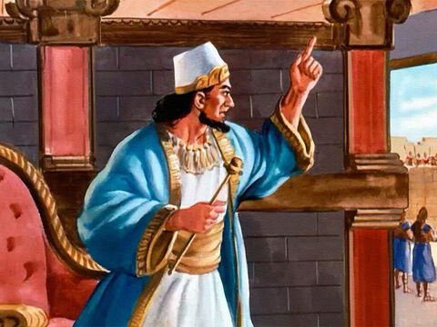 Excitedly, King Joram sent for Elisha. What an opportunity! The whole Syrian army his prisoners! But he didn't dare act without Elisha's consent. – Slide 31