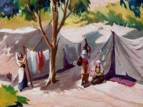 We read in the Bible that the family of Gideon was one of the poorest in Israel and Gideon was the youngest son. – Slide 5