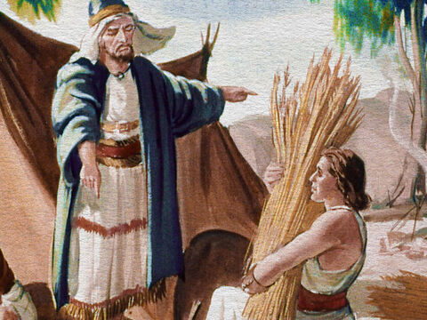 That according to ancient custom made Gideon the least important. So Gideon was used to taking orders and to doing plenty of hard work. – Slide 6