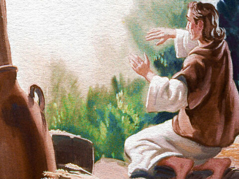 When Gideon was told by an angel of the Lord that God had chosen him to deliver Israel from the Midianites, Gideon's reaction was as much as we might have expected it to be. – Slide 7