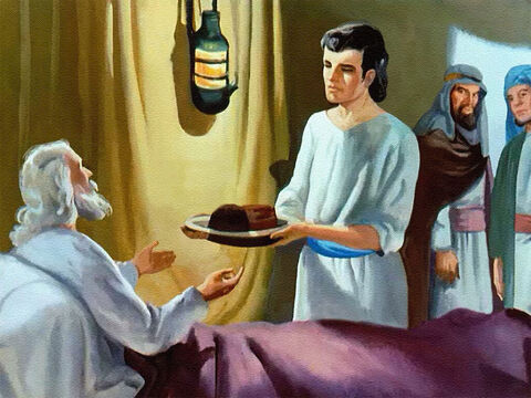 As Joseph grew up, his father loved him more and more, for Joseph was all that a son should be – good, obedient, honouring his father in everything he did. – Slide 6