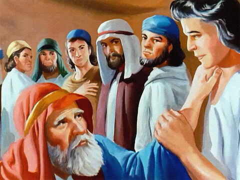 He became his father's trusted servant and that made the other sons angry. They were jealous that Joseph was loved and trusted more than they were. – Slide 7