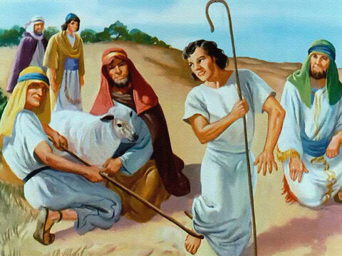 They never missed a chance to be mean to Joseph, and they despised all the good things he did. – Slide 8