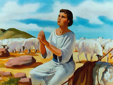 But God's loving care was so real to Joseph that he talked to the Lord about his problems, and the Lord never failed him. – Slide 9