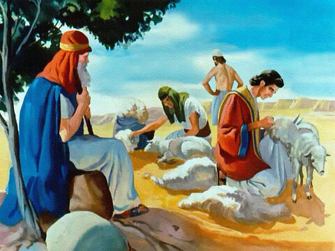 As much as he loved and trusted his son, Jacob hardly thought of him as a king. But as the days passed, and he saw how humble, good and faithful Joseph was, Jacob began to think that the dreams must have been sent by God. – Slide 17