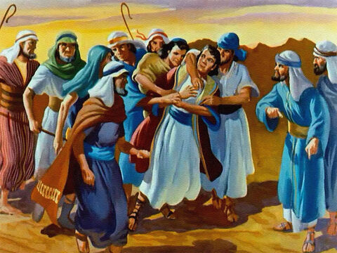 So without any warning they seized Joseph. – Slide 21