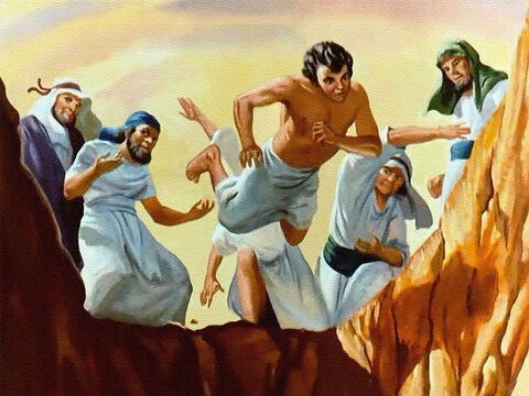 Instead of killing Joseph they would cast him into the pit. – Slide 24