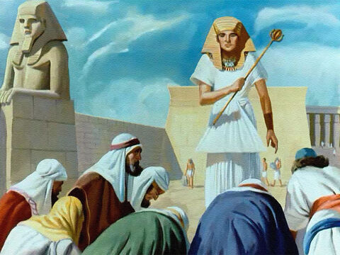 They bowed before Joseph, the great Prince of Egypt, without guessing at all that this was their brother. How strange Joseph must have felt when he recognized his brothers. The dreams that had made them so angry had actually come true. God Himself had caused it to happen. – Slide 36