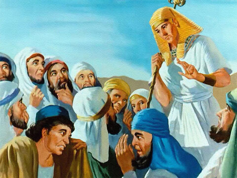 And when Joseph finally told his brothers who he was, and forgave them for the way they had treated him, the brothers could see that Joseph was blessed because he obeyed God. But this was not something that had happened overnight. Joseph's whole life had led up to this. – Slide 37