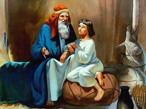 As a child Joseph had loved his father and learned to obey him. – Slide 38