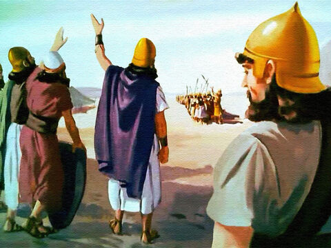 After that time, wherever they went in the Promised land, the Israelites had victory as long as they had faith in the Lord and obeyed His commands. – Slide 43