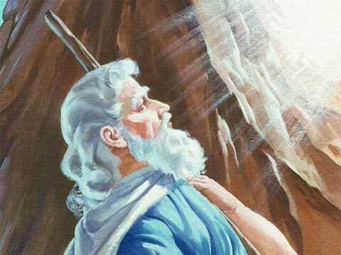 As Moses listened, God said, 'This is what you shall to say to the people of Israel. You have seen with your own eyes how I brought you out of the land of Egypt and what I did to the Egyptians when they tried to take you back into slavery. – Slide 8