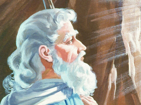 So Moses stayed on the mountain for 40 days and 40 nights, while God talked with him, giving all his laws and judgements. – Slide 38