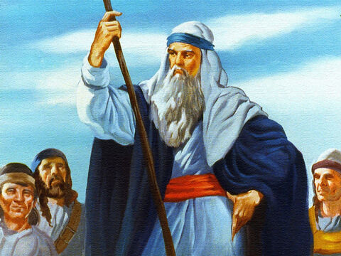 Moses was to be used by God to deliver His people from the power of Pharaoh, the King of Egypt. – Slide 4