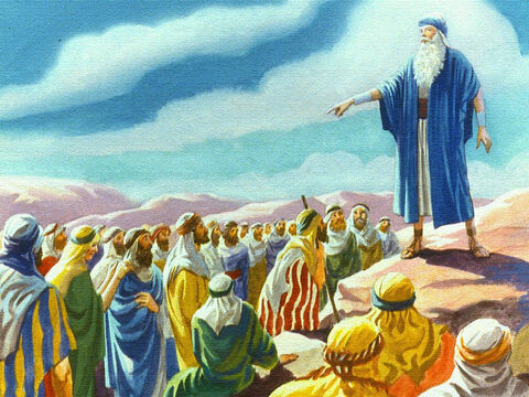 Then Moses said to the people don't be afraid, the Lord God himself is appearing as a pillar of cloud by day and a pillar of fire by night. We know that the Lord is with us and is leading the way. – Slide 16