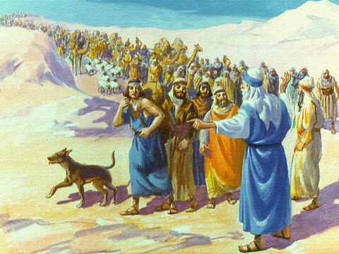 Moses may not have understood why, but he trusted in the Lord and gave the order to turn towards the Red Sea. The people did not understand either but they did what their leader told them to do. – Slide 20