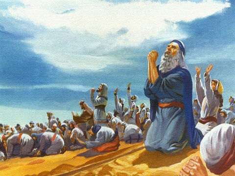 But Moses and the people sang a song of praise and gave thanks to God for the miraculous way He had delivered them from their enemies. The story of the Red Sea doesn't belong just to the past. It has a message for today. The Bible tells us that it took the power of God to deliver Israel from slavery and it takes the power of God today, to delivery people from sin. 1 John 5:4-5 – Slide 45
