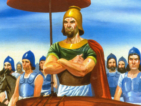 In the Old Testament, we read the story of Naaman, the commander-in-chief of the army of Syria. – Slide 1