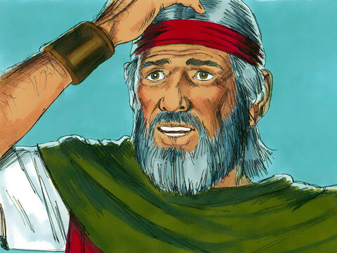 'But if I go to the Hebrew leaders, who shall I say sent me? ' asked Moses. – Slide 8