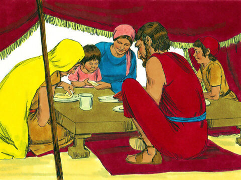 Most people obeyed God and gathered enough food for that day. – Slide 22