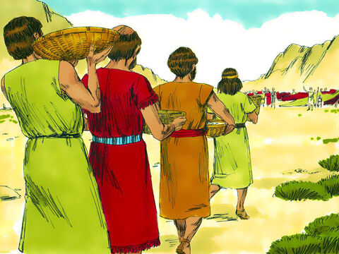 On the sixth day most people gathered twice as much as God had told them. – Slide 24