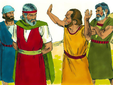 Exodus 17 v 1-7 When they camped at Rephidim there was no water to drink. They complained and quarrelled with Moses demanding, 'Give us water to drink!' 'Why do you quarrel with me? Moses asked. 'Why do you test God?' – Slide 28