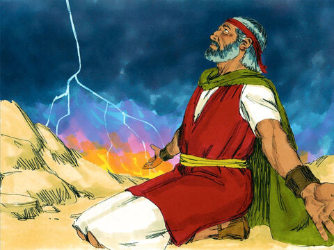 God was so upset by their disobedience he told Moses He wanted to destroy them. – Slide 10
