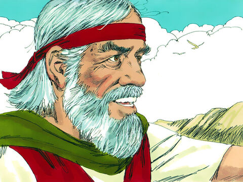 Moses addressed the people. 'I am now 120 years old and unable to lead you. God has told me I will not cross the River Jordan and enter the Promised Land. – Slide 1