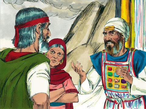 """'Has the Lord spoken only through Moses?' they asked. """"Hasn't he also spoken through us?"""" The Lord heard their complaining. – Slide 2"""