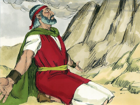 Now Moses was a very humble man, more humble than anyone else living at that time. – Slide 3