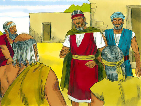 Moses reported this to the Hebrew leaders but they were too discouraged by their bad treatment to listen to him. – Slide 9