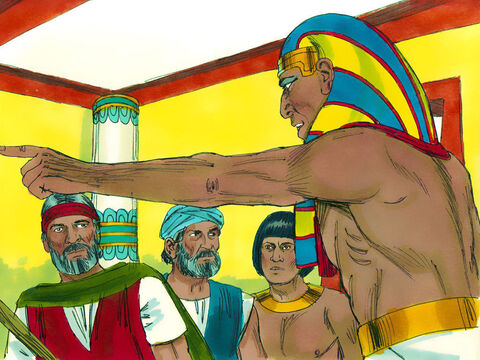 Pharaoh became stubborn again, broke his promise and refused to let God's people go and worship Him. – Slide 6