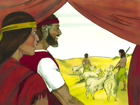 Exodus 2 v 22 Moses agreed and later married Zipporah, one of Jethro's daughters. They had a son who Moses named Gershom. It meant, 'I have become a foreigner in a foreign land'. – Slide 13