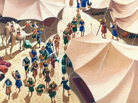 When they came to Kadesh in the Desert of Paran they pitched their tents. Then they did something that would cost them 40 years of delay and wandering in the wilderness. – Slide 3