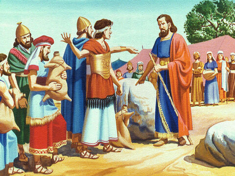 They complained bitterly to Moses, 'Why did you ever make us leave Egypt? We would rather be dead than in this terrible place.' – Slide 7
