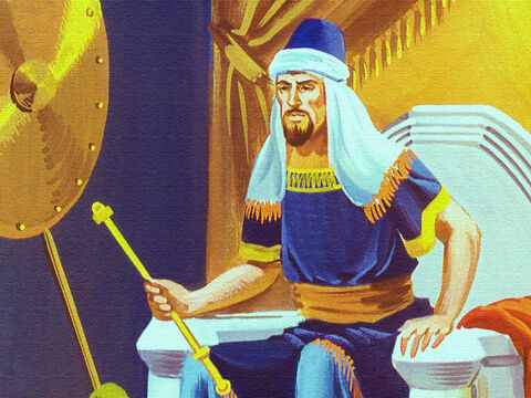 The King of Edom prided himself on his power not his mercy. His answer was clear. – Slide 13