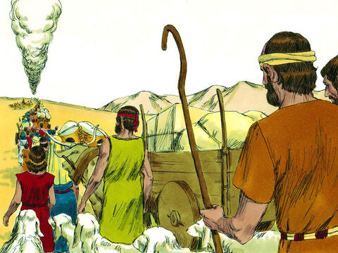 After leaving Egypt, the freed Hebrew slaves moved through the wilderness on their way to the land God had promised them. As they approached Canaan, they stopped in the wilderness of Zin at a place called Kadesh Barnea – Slide 1