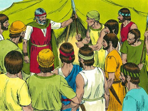 Moses told them to find out whether the people in Canaan were strong or weak. How big were their towns and were they fortified? Was the soil fertile or poor? He also asked them to bring back some fruit from the land. – Slide 4