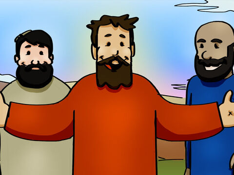 Once when Jesus was eating with them, He gave orders not to leave Jerusalem until the God had sent the Holy Spirit. <br/>They kept asking Him, 'Lord, has the time come for you to free Israel and restore our kingdom?' – Slide 2
