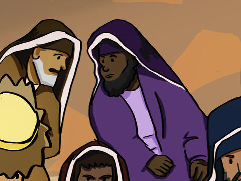"""The council conferred together. 'What should we do with these men?"""" they asked. """"We can't deny that they have performed a miraculous sign, and everybody in Jerusalem knows about it.' <br/>So they commanded Peter and John never again to speak or teach in the name of Jesus. – Slide 9"""