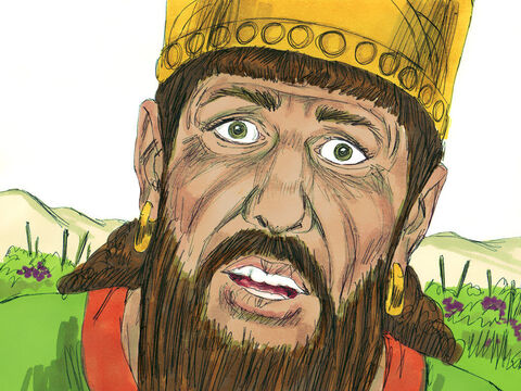Elijah announced that Ahab would be killed, his royal line obliterated, and Jezebel would be eaten by dogs. – Slide 13