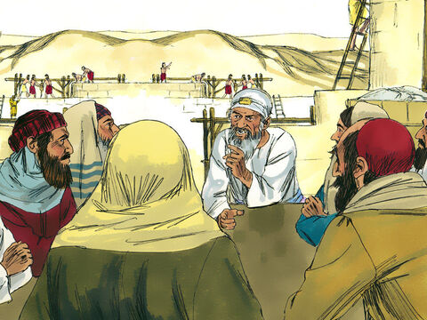 Nehemiah summoned the priests and made the nobles and officials take an oathto do what they had promised. Everyone at the meeting said, 'Amen,'and praised theLord. – Slide 15