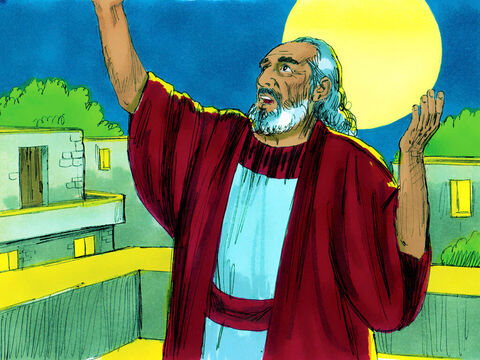 Genesis 6 v 9-22 Noah was a man who did what was right and obeyed God. He had three sons, Shem, Ham and Japheth. – Slide 1
